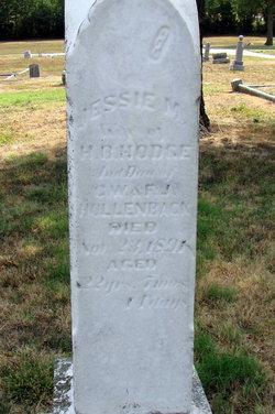 Jessie M. <i>Hollenback</i> Hodge