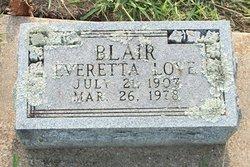 Everetta <i>Love</i> Blair