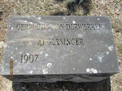 Gertrude Louise <i>Van Derwerken</i> Argersinger