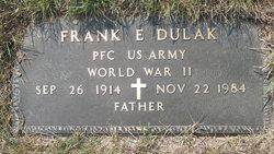 Francis Edward Frank Dulak, Sr