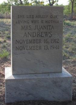 Juanita Josephine <i>Benham</i> Andrews