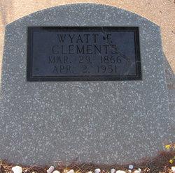 Wyatt F Clements