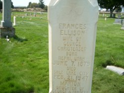 Francis Elizabeth <i>Ellison</i> Christensen