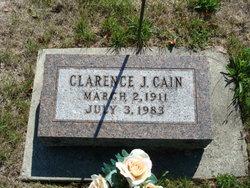 Clarence Joseph Cain