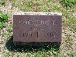 Cornelius F Cain