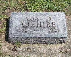 Ada D <i>Clingaman</i> Abshire