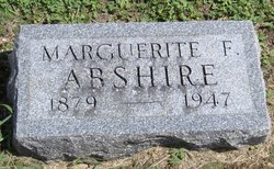 Marguerite F <i>Ault</i> Abshire