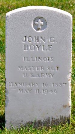 John G Boyle