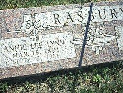Annie Lee <i>Lynn</i> Rasbury