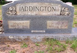 Nellie Ellen <i>Dickenson</i> Addington