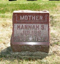 Hannah Sophia <i>Wildt</i> Julius