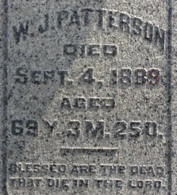 William J Patterson