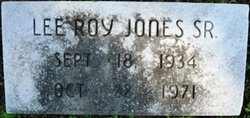 Lee Roy Jones, Sr