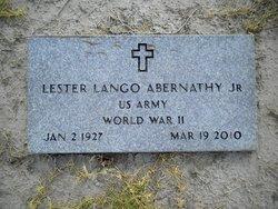 Lester Lango Abernathy, Jr
