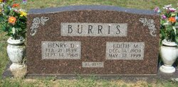 Henry Daniel Bud Burris