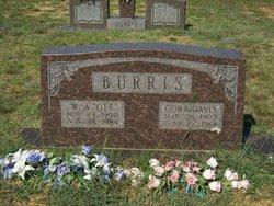 Cora Elois <i>Davis</i> Burris