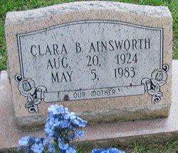 Clara <i>Boutwell</i> Ainsworth