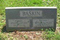Winona Hope <i>Wolfe</i> Baskin