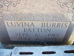 Mary Luvina <i>Burris</i> Patton