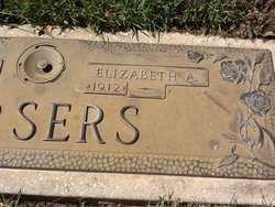 Elizabeth Amelia Bettye <i>Martin</i> Arsers