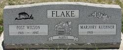 Fost Wilson Flake