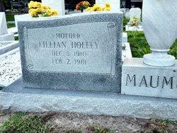 Lillian Elizabeth <i>Holley</i> Maumus