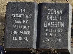 Johan Greeff Basson
