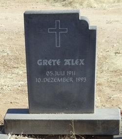 M Grete E Alex