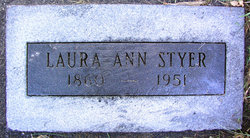 Laura Ann <i>Thayer</i> Styer