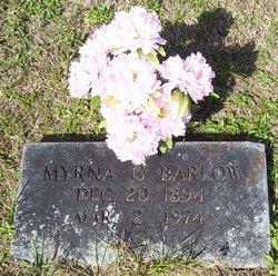 Myrna G <i>Barlow</i> Bailey