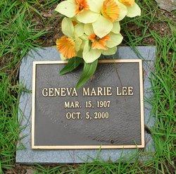 Geneva Marie Lee
