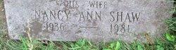Nancy Ann <i>Shaw</i> Arpin