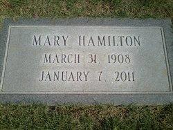 Mary <i>Harris</i> Hamilton