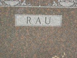Christian Rau, Sr