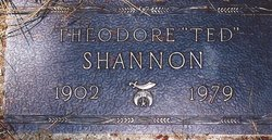 Theodore Roosevelt Ted Shannon