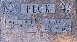 Betty L. <i>Haynes</i> Peck