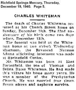 Charles Whiteman