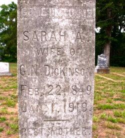 Sarah A. Sally <i>Morrison</i> Dickinson