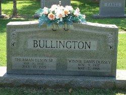 Winnifred Winnie <i>Dossey</i> Bullington