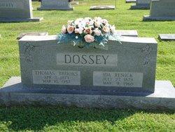Ida <i>Renick</i> Dossey