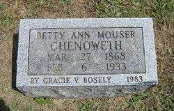Elizabeth A. Betty <i>Mouser</i> Chenoweth