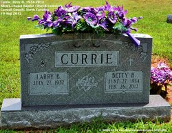 Betty H. Currie