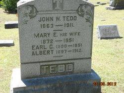 Mary E <i>Barnicoat</i> Tedd