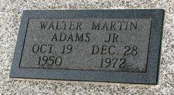 Walter Martin Adams, Jr