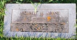 Mildred H Drane