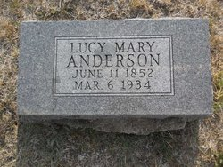 Lucy Mary Anderson
