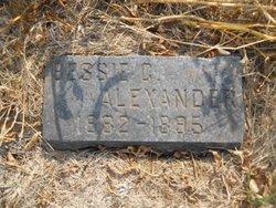 Bessie C Alexander