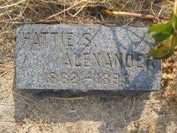 Hattie S <i>Benner</i> Alexander