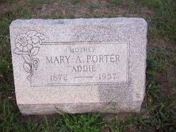 Mary A Addie Porter