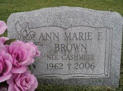 Ann Marie <i>Cashmere</i> Brown
